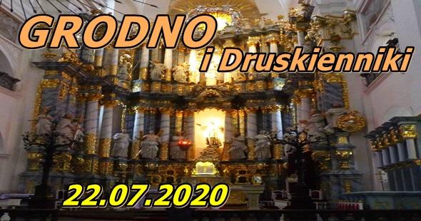 Wycieczka do Grodna i Druskiennik 22-07-2020 @ Augustów, Rynek Zygmunta Augusta 15