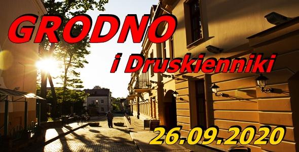 Wycieczka do Grodna i Druskiennik 26-09-2020 @ Augustów, Rynek Zygmunta Augusta 15