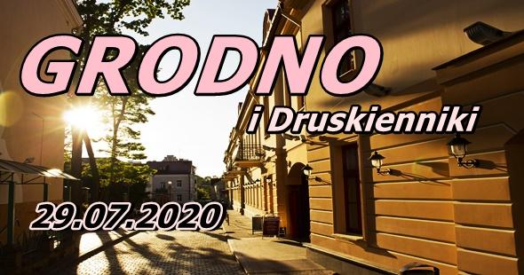 Wycieczka do Grodna i Druskiennik 29-07-2020 @ Augustów, Rynek Zygmunta Augusta 15