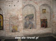 Dekaracja ścian Monaster Cerkiew Świętych Borysa i Gleba w Grodnie