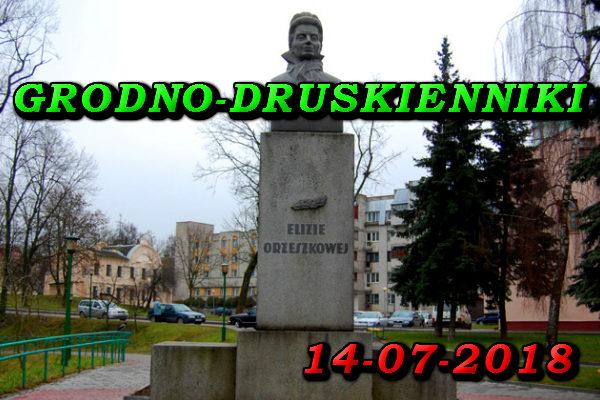 Wycieczka do Grodna i Druskiennik 14-07-2018 @ Augustów, Rynek Zygmunta Augusta 15
