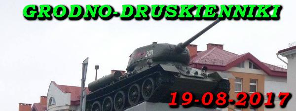 Wycieczka do Grodna i Druskiennik 19-08-2017