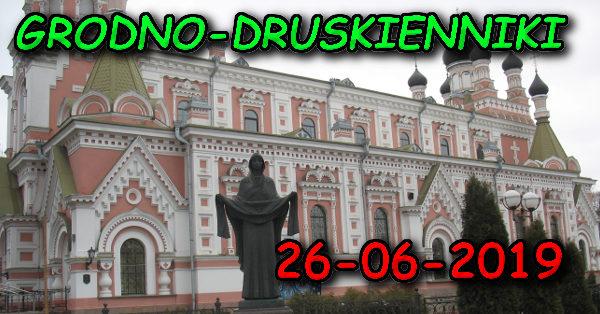 Wycieczka do Grodna i Druskiennik 26-06-2019 @ Augustów, Rynek Zygmunta Augusta 15
