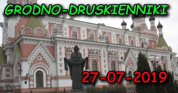 Wycieczka do Grodna i Druskiennik 27-07-2019 @ Augustów, Rynek Zygmunta Augusta 15