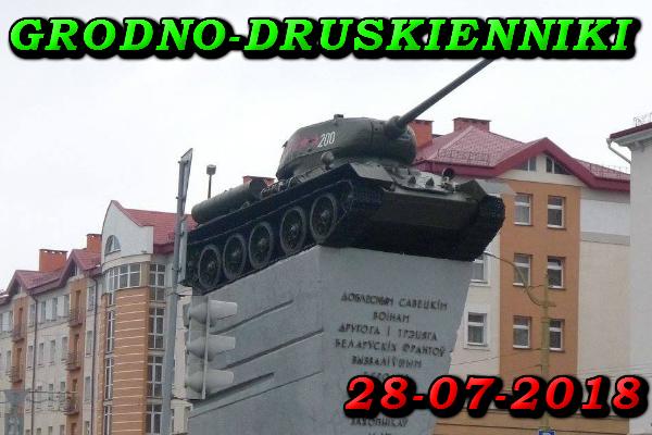 Wycieczka Grodno i Druskienniki 28 Lipiec 2018