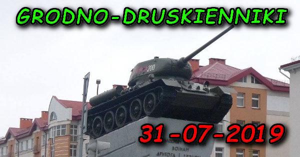 Wycieczka do Grodna i Druskiennik 31-07-2019 @ Augustów, Rynek Zygmunta Augusta 15
