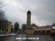 Wieża strażacka w Grodnie