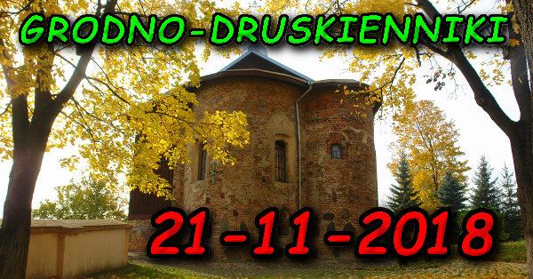 Wycieczka do Grodna i Druskiennik 21-11-2018 @ Augustów, Rynek Zygmunta Augusta 15