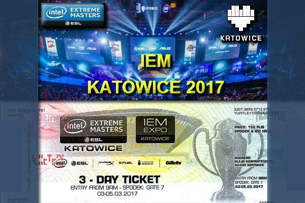Bilety IEM Katowice 2017