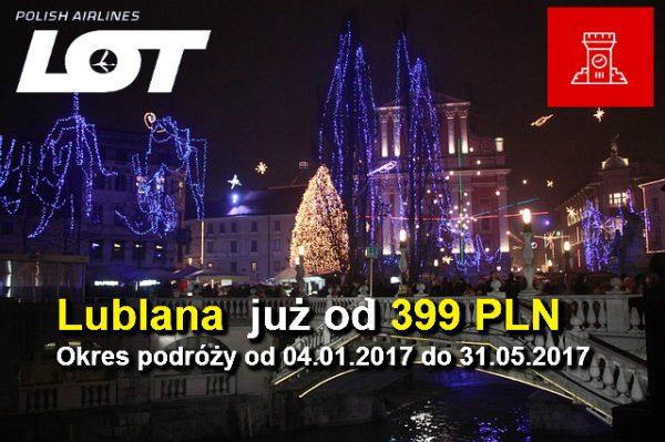 Promocja Adwentowa LOT Lublana 08-12-2016