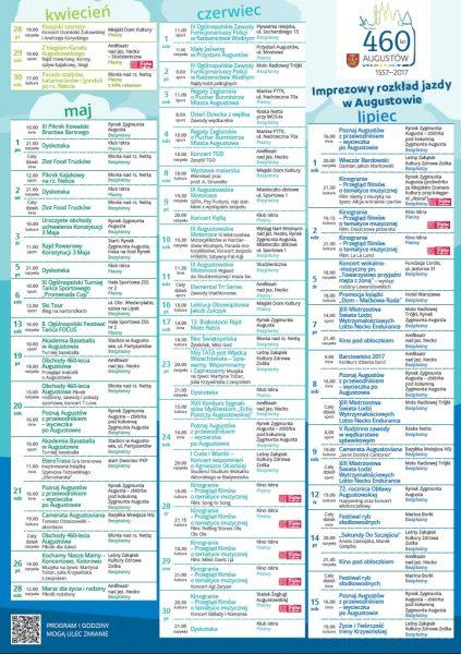 Kalendarz imprez Augustów 2017