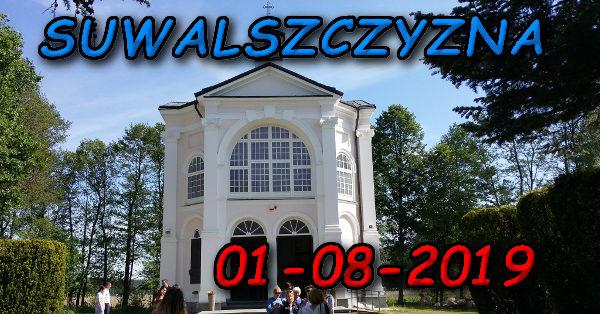 Wycieczka po Suwalszczyźnie 01-08-2019 @ Augustów, Rynek Zygmunta Augusta 15
