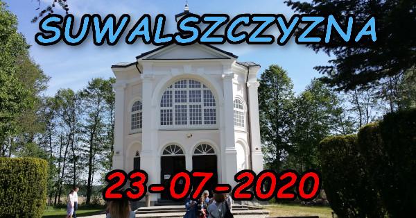 Wycieczka po Suwalszczyźnie 23-07-2020 @ Augustów, Rynek Zygmunta Augusta 15