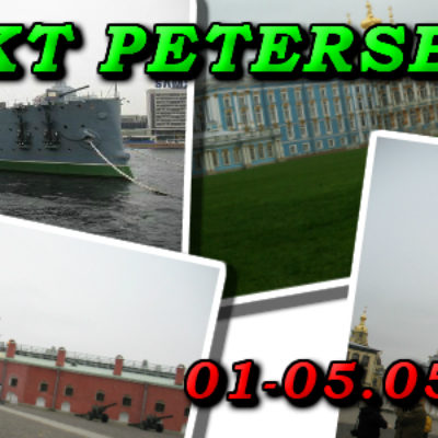 Wycieczka do Sankt Petersburg 01-05.05.2018