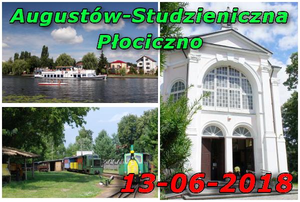Augustów Żegluga, Studzieniczna, Wigierska Kolej Wąskotorowa