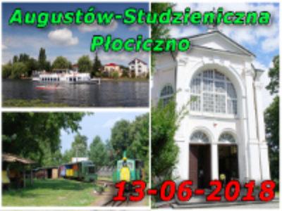 Żegluga Augustowska, Studzieniczna, Kolej Wigierska 13-06-2018