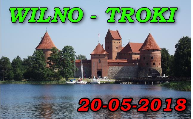 Zamek w Trokach 20-05-2018