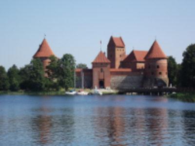 Zamek Troki Litwa