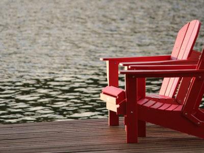 Pomost z krzesłami
