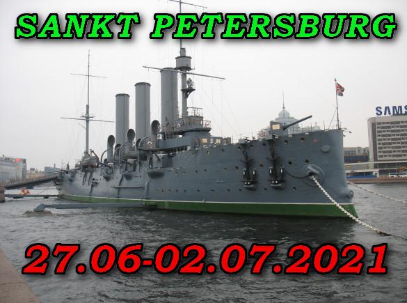 Sankt Petersburg Krążownik Aurora 27-06_02-07-2021