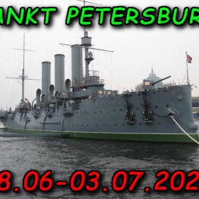 Sankt Petersburg Krążownik Aurora Rosja