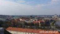 Widok z Baszty Giedemina Wilno Kaziuki