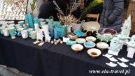 Wyroby ceramiczne na Jarmarku Kaziukowskim