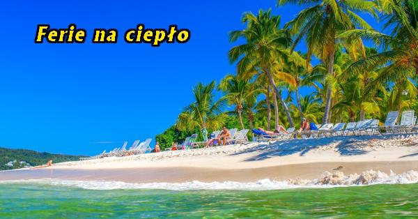 piaszczysta plaża na Dominikanie