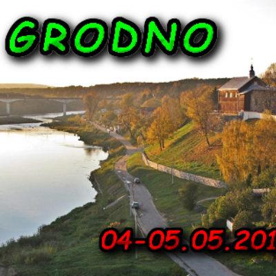 Rzeka Niemen Grodno Białoruś