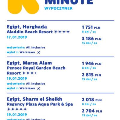 last minute 16-01-2019