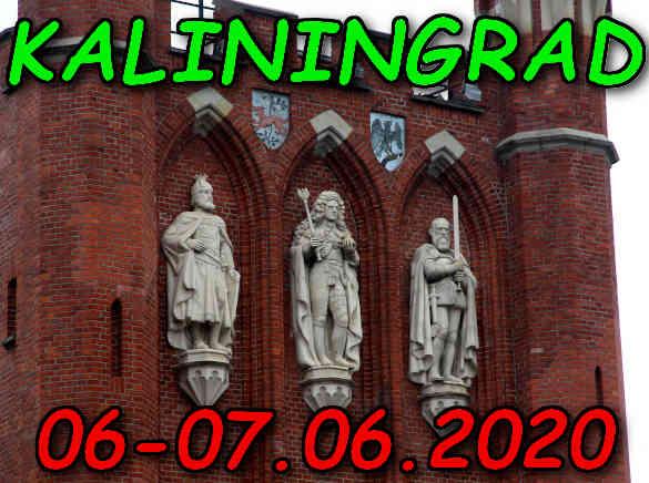Wycieczka do Kaliningradu 06-07.06.2020 @ Augustów, Rynek Zygmunta Augusta 15