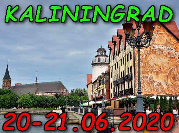 Wycieczka do Kaliningradu 20-21.06.2020 @ Augustów, Rynek Zygmunta Augusta 15