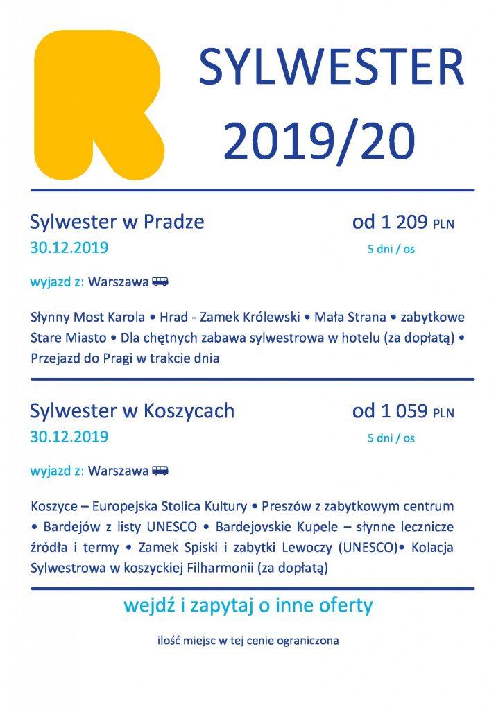 Sylwester 2020 u sąsiadów w Pradze i Koszycach