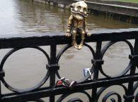 Rzeźba Dziadka Homlin w Kaliningradzie