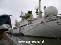 Statek badawczy Kosmonauta Viktor Patsayev w Kaliningradzie