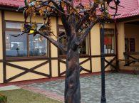 Drzewo z bursztynu w Kaliningradzie