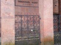 Nagrobek Immanuel Kant w Kaliningradzie