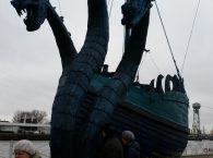 Statek wikingow Żmija Gorynycz w Kaliningradzie