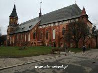 Tył Katedry Św. Wojciecha i Najświętszej Marii Panny w Kaliningradzie