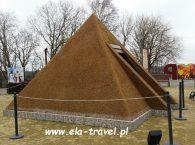 Bursztynowa piramida w Kaliningradzie