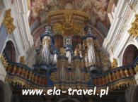 Barokowe organy w Świętej Lipce
