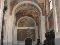 Lewa nawa boczna Bazyliki w Świętej Lipce