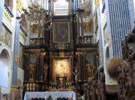 Ołtarz w Bazylice Święta Lipka
