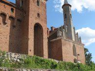 Brama główna zamku w Reszlu