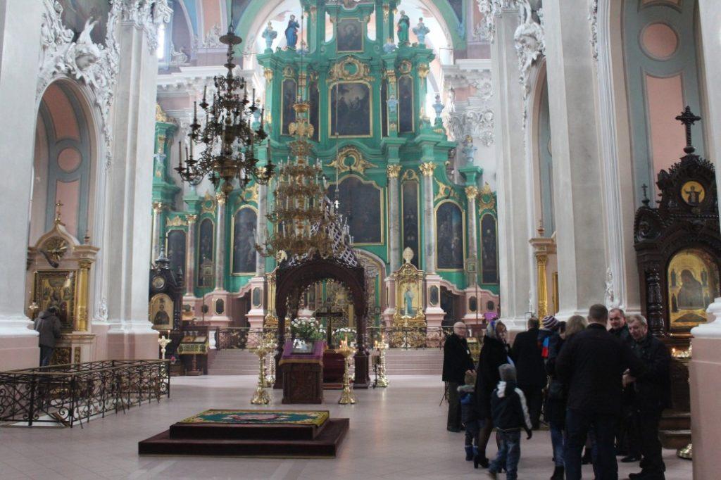 Nawa główna Św. Ducha w Wilnie na Litwie