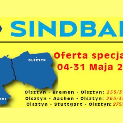 Sindbad oferta specjalna Maj 2020r.
