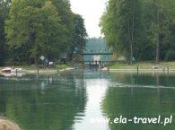 Śluza Przewięź Jezioro Studzieniczne