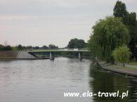 Most nad rzeką Nettą Augustów