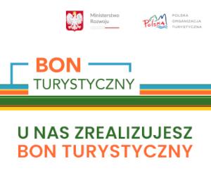 Logo Bonu Turystycznego ELA-TRAVEL Augustów