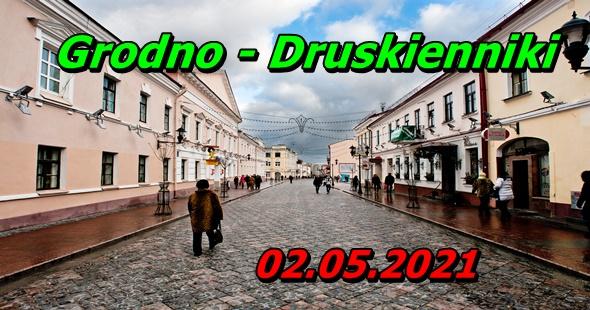 Wycieczka do Grodna i Druskiennik 02-05-2021 @ Augustów, Rynek Zygmunta Augusta 15
